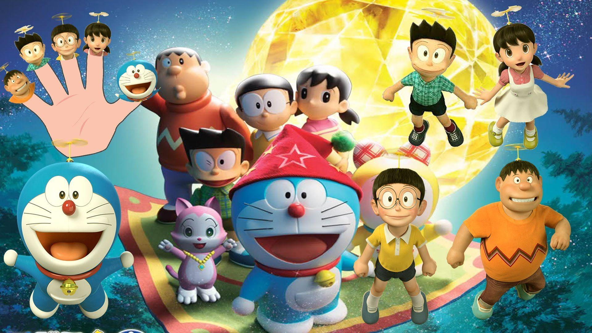 3d Doraemon Wallpaper Cartoon Friends Images Hd 80035 Hd