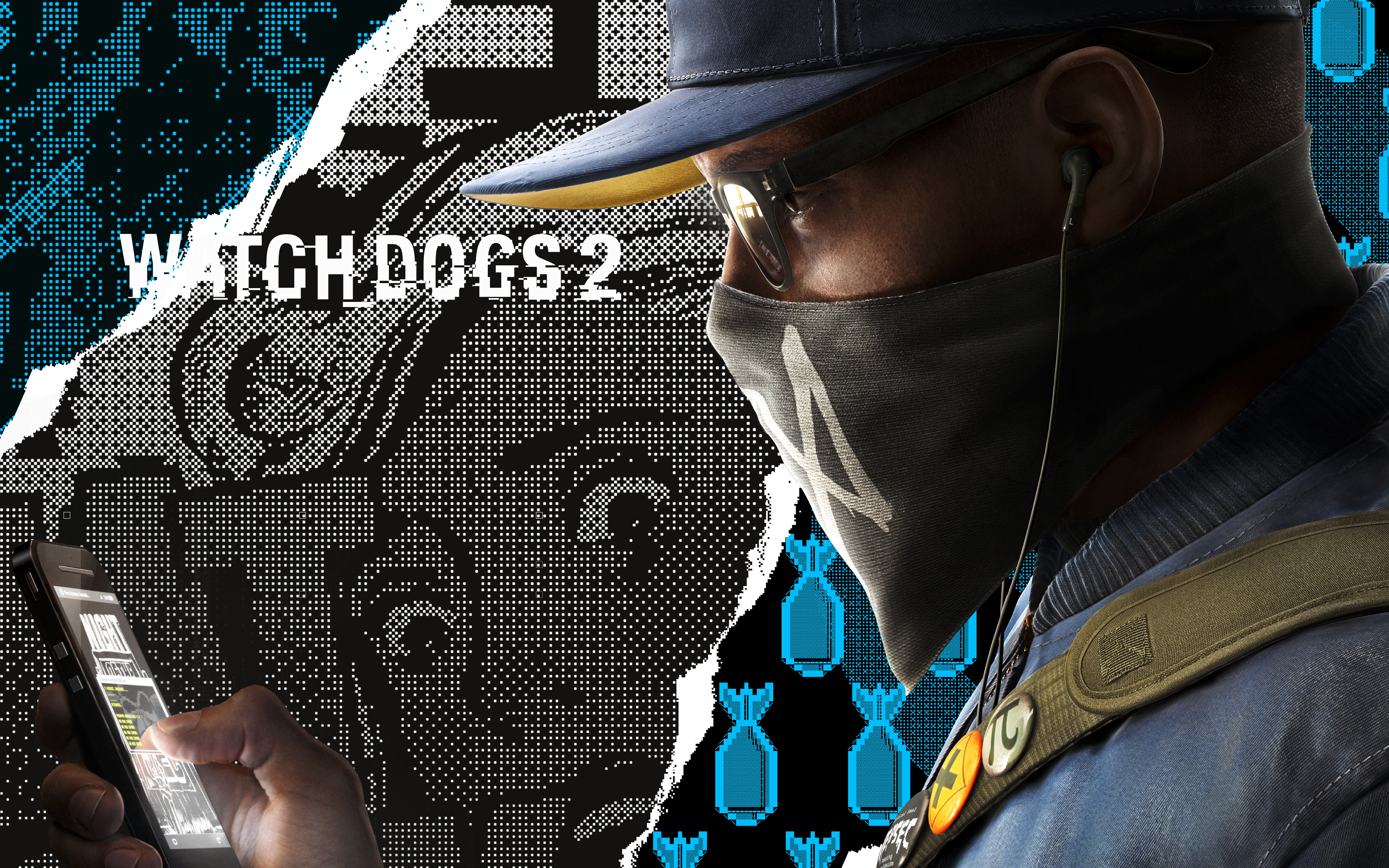 Watch Dogs 2 4k , HD Wallpaper & Backgrounds