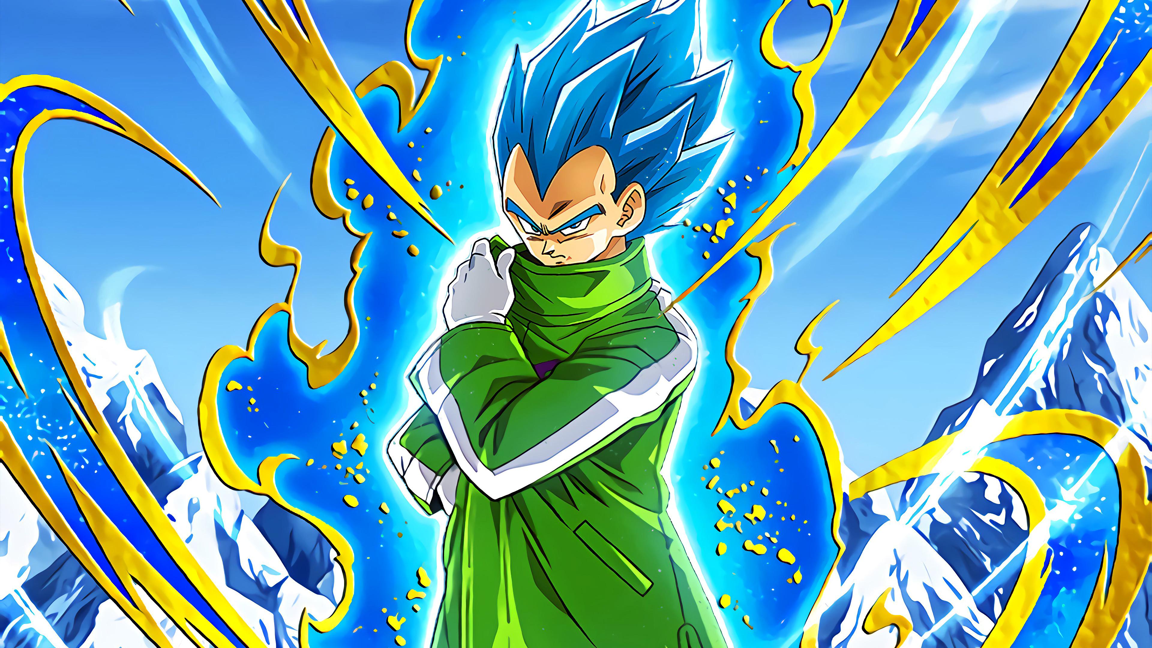 Vegeta Super Saiyan Blue Dragon Ball Super 81751 Hd