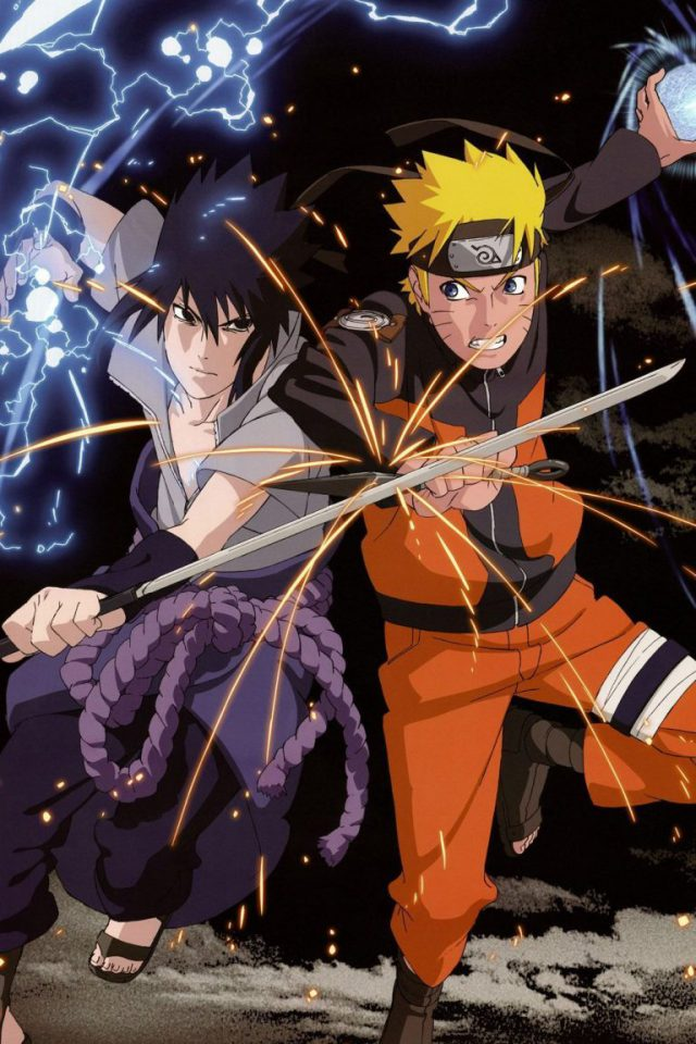 Download Wallpaper For Iphone Naruto And Sasuke Wallpaper