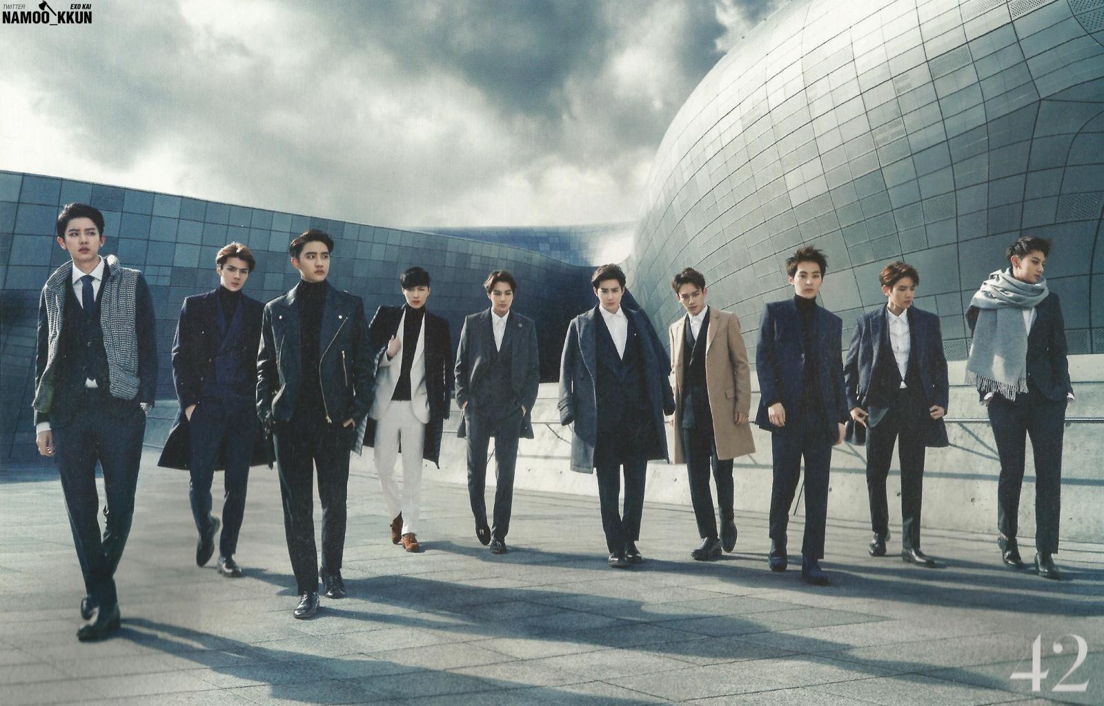 Exo The Celebrity Magazine 82519 Hd Wallpaper