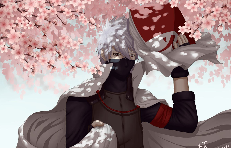 8 82521 photo wallpaper sakura flowering naruto art hatake kakashi