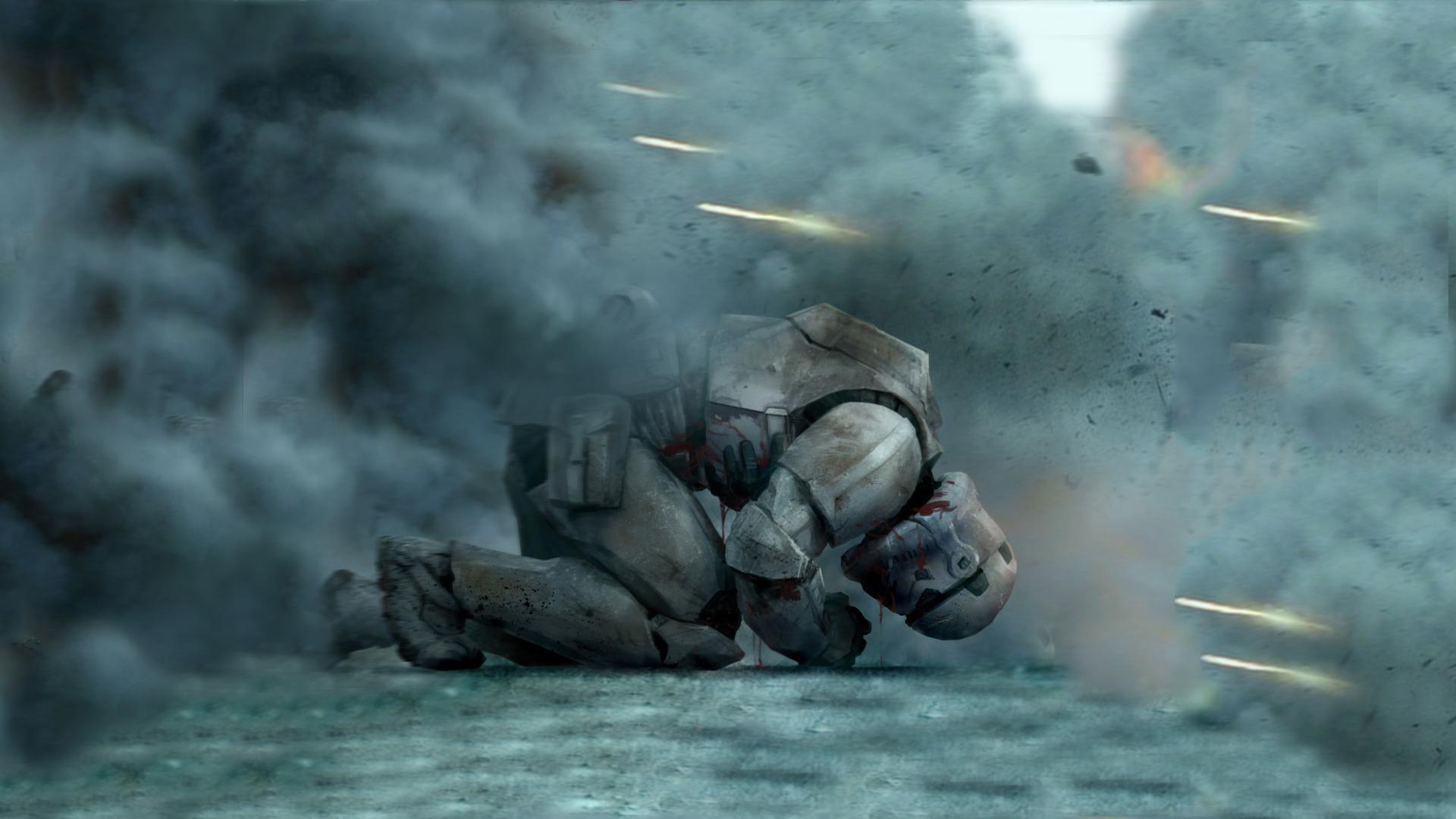 Star Wars Wallpaper Hd - Star Wars Stormtrooper Dying , HD Wallpaper & Backgrounds