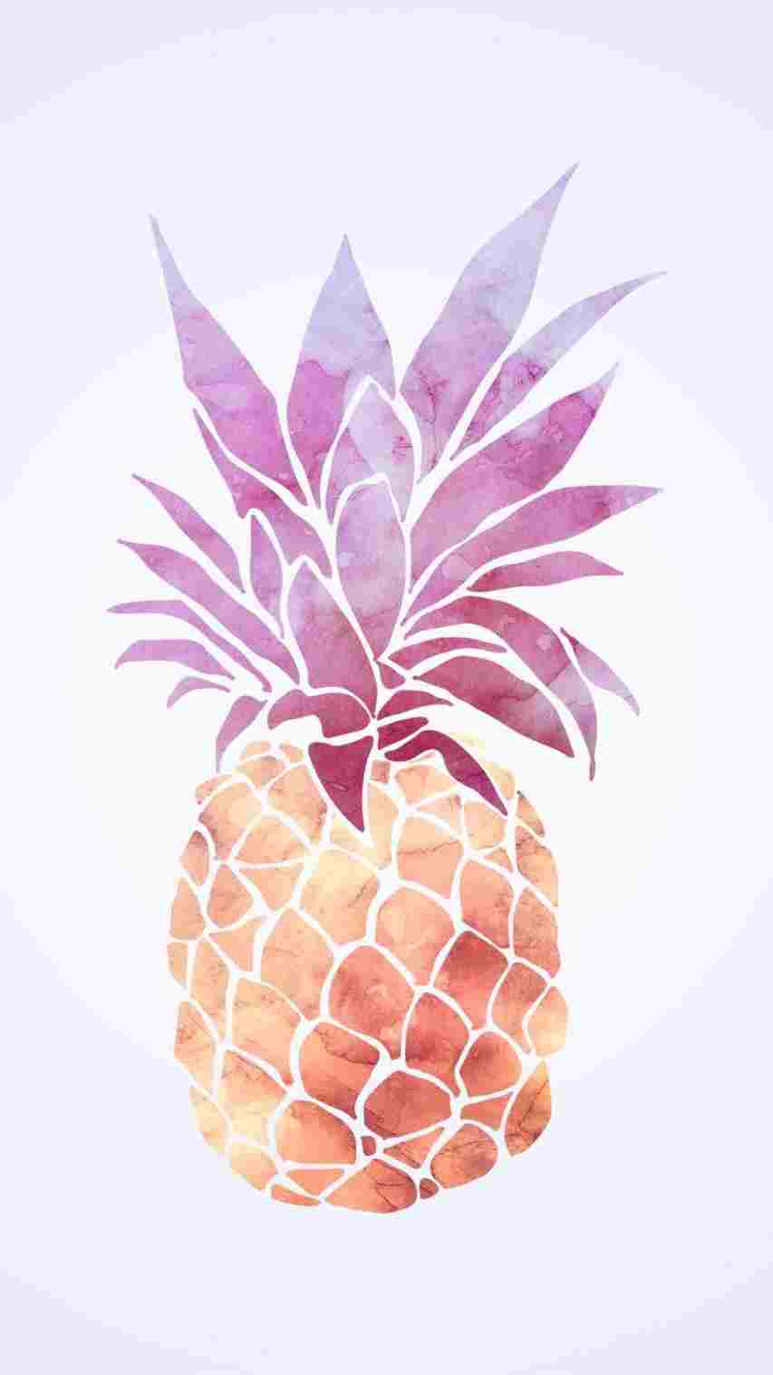 Rose Gold Pineapple Iphone 83344 Hd Wallpaper Backgrounds Download