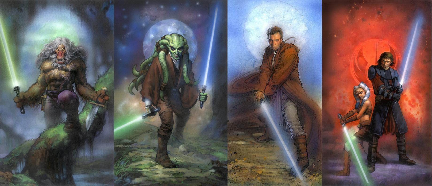 Star Wars Jedi Wallpaper Photo Star Wars Artwork Jedi 83359