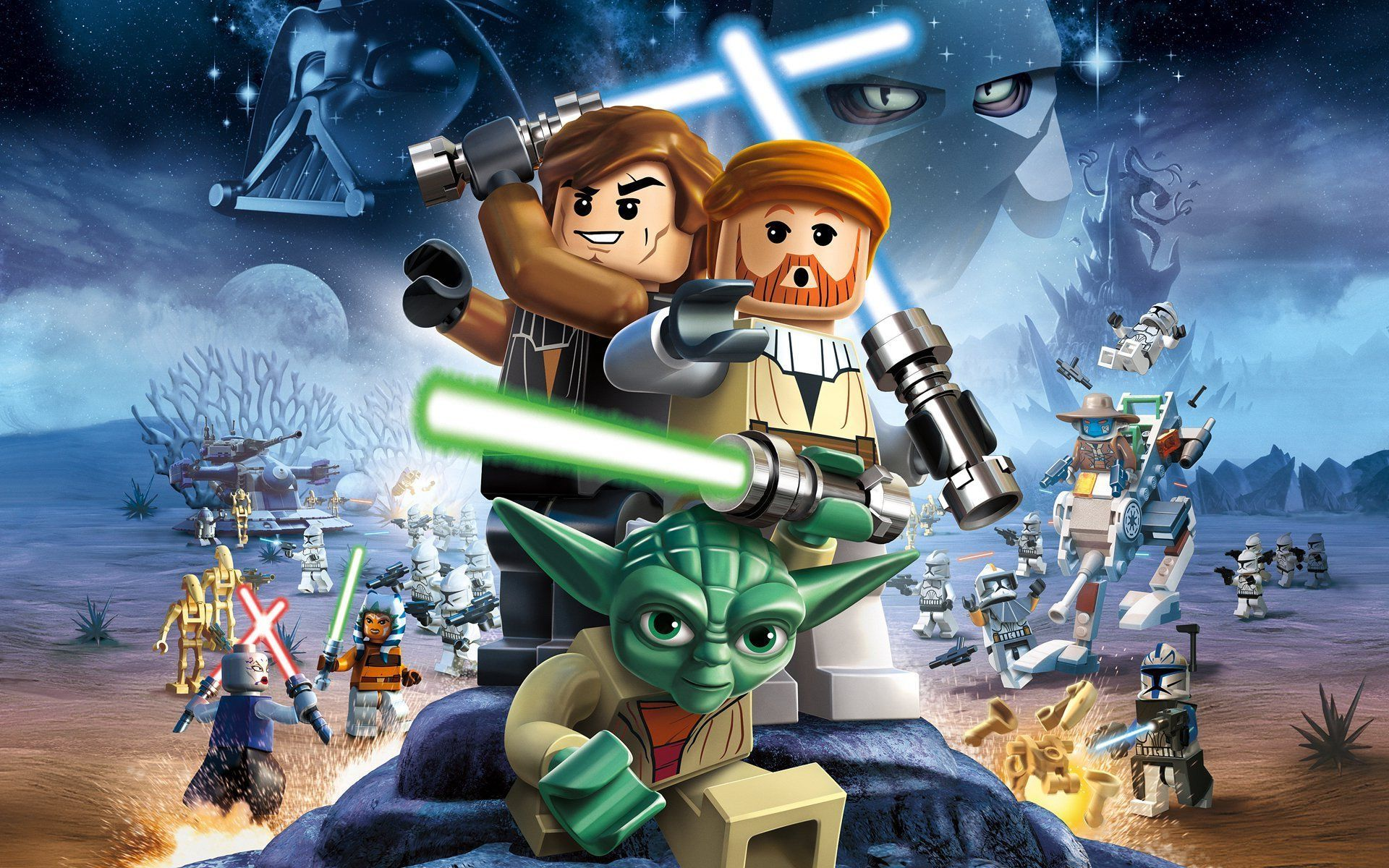 Lego Star Wars Wallpaper - Star Wars Lego Imagenes , HD Wallpaper & Backgrounds