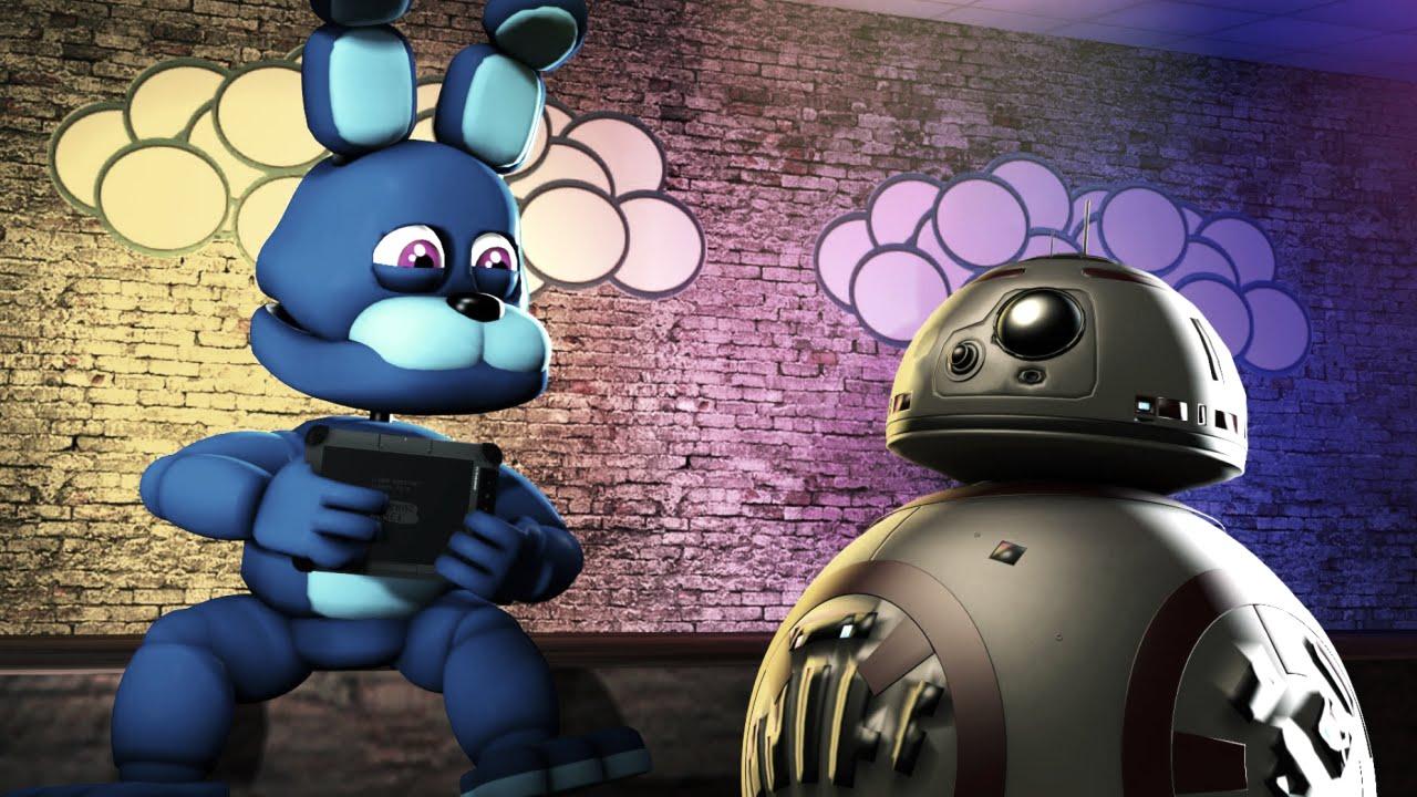 Star Wars In Five Nights At Freddys Fnaf World Sfm Fnaf In Star