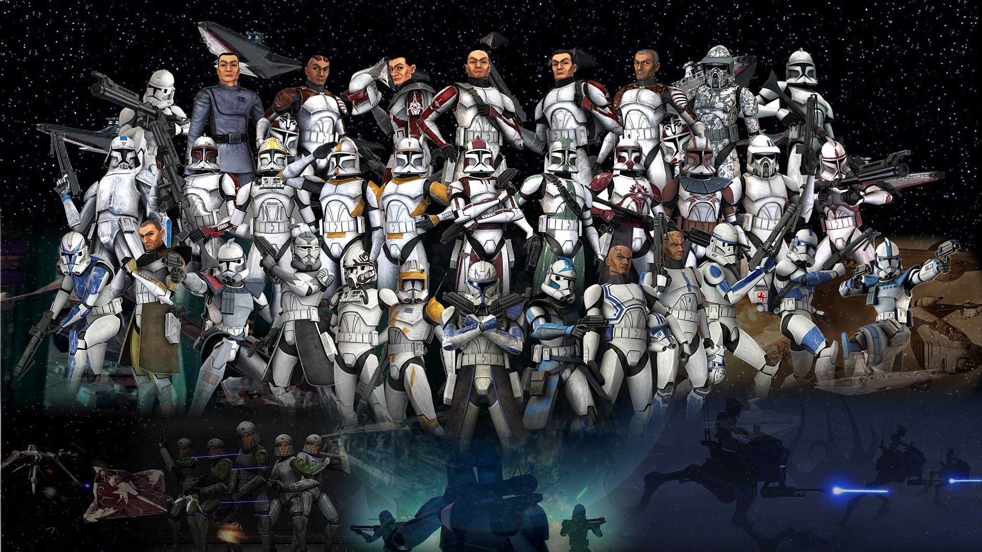 Star Wars The Clone Wars Wallpaper Hd , HD Wallpaper & Backgrounds