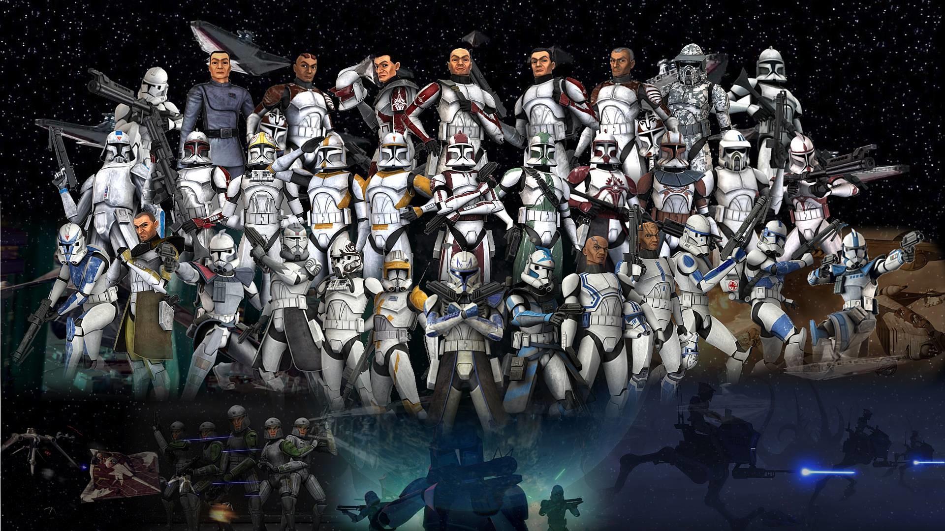 Star Wars The Clone Wars Wallpaper Hd 83578 Hd