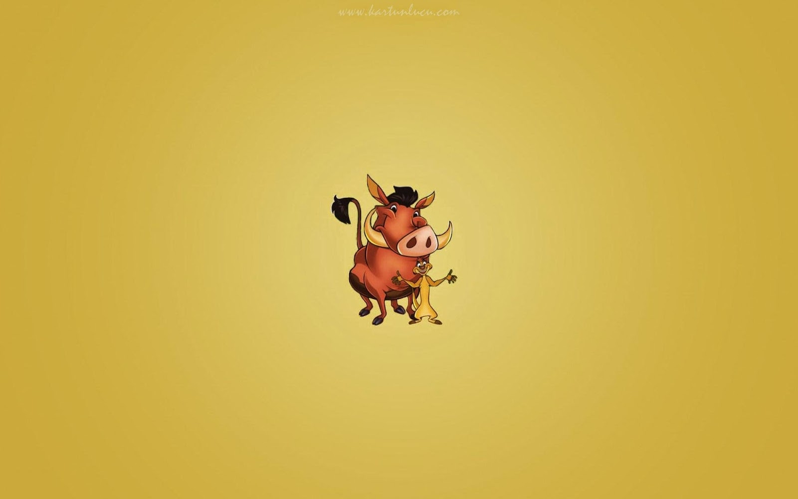 Wallpaper Kartun Lucu 3d Image Gallery Pumba And Timon