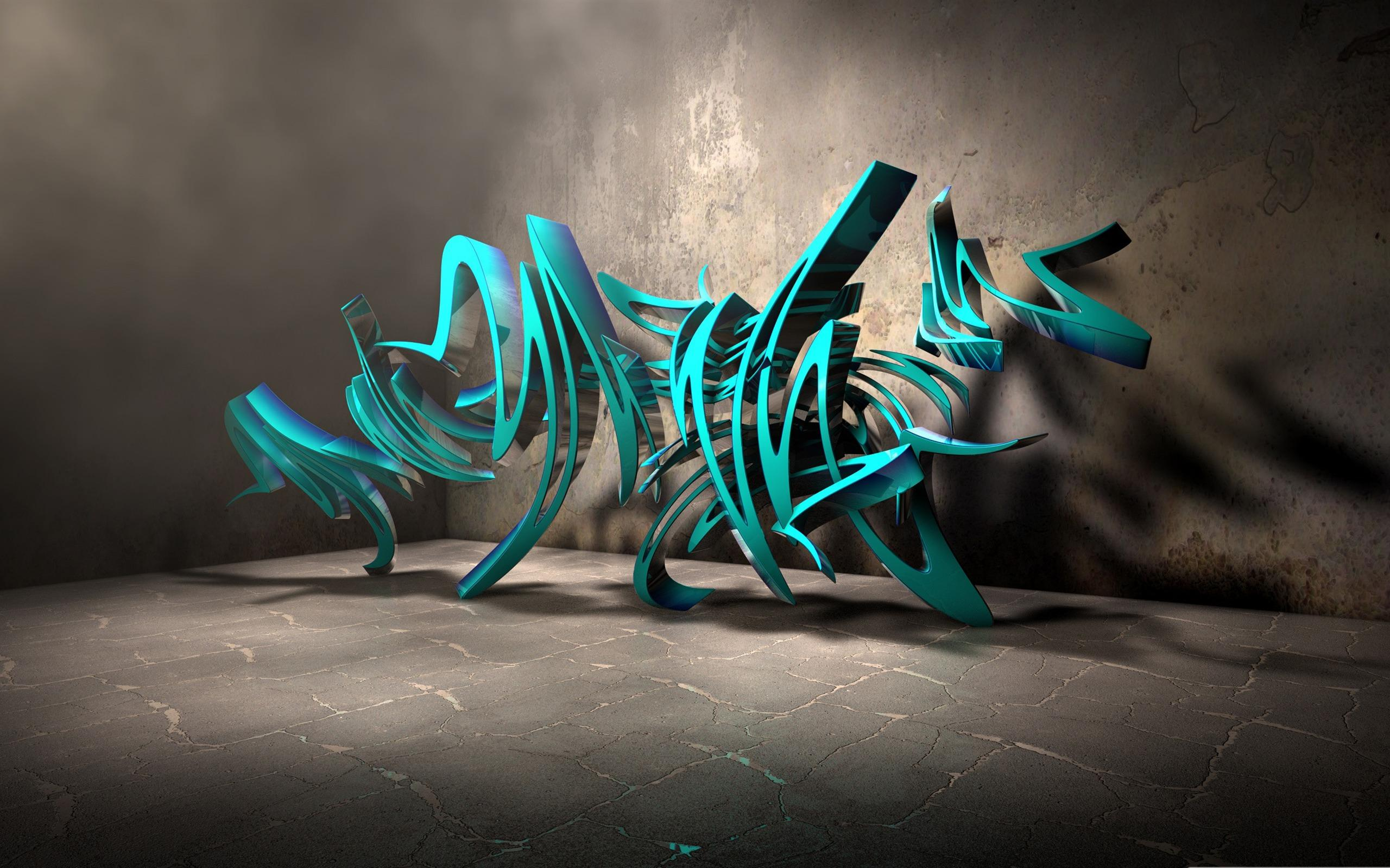 More Wallpaper Collections Graffiti 3d Art HD