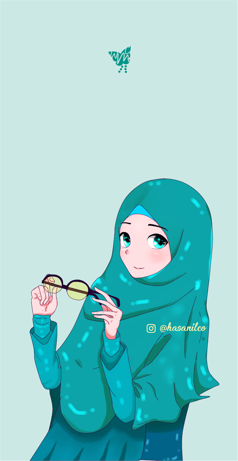 After That You Can Download This Wallpaper For Free - Download Gambar Kartun Muslimah , HD Wallpaper & Backgrounds