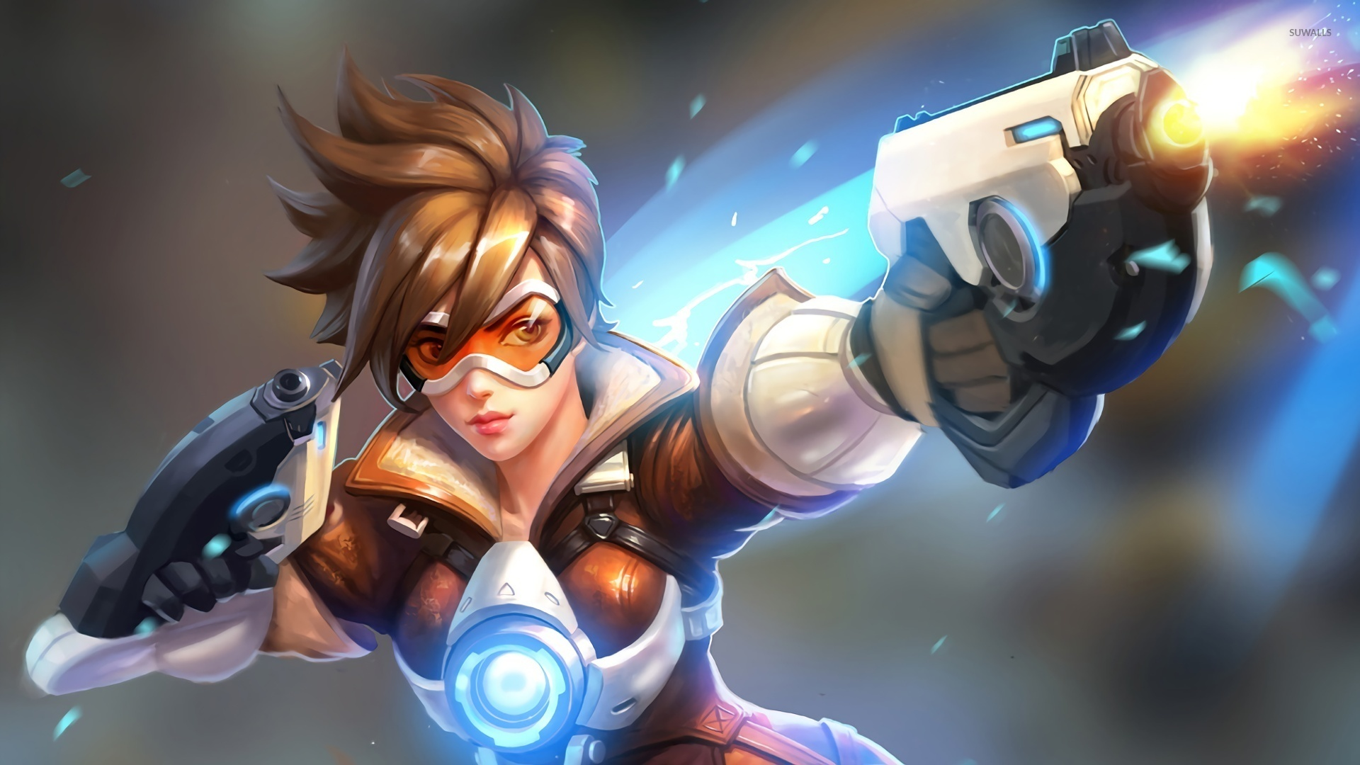 Tracer Overwatch Wallpaper Overwatch Tracer 84711