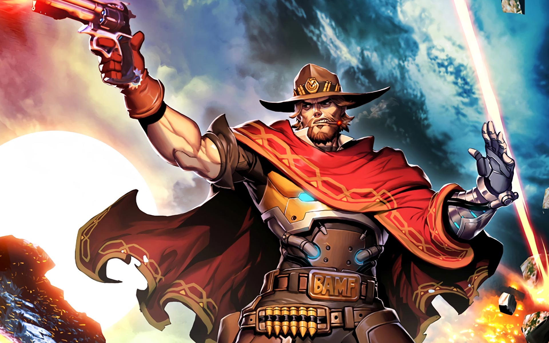 Overwatch Wallpaper Hd Overwatch Mccree Wallpaper 4k