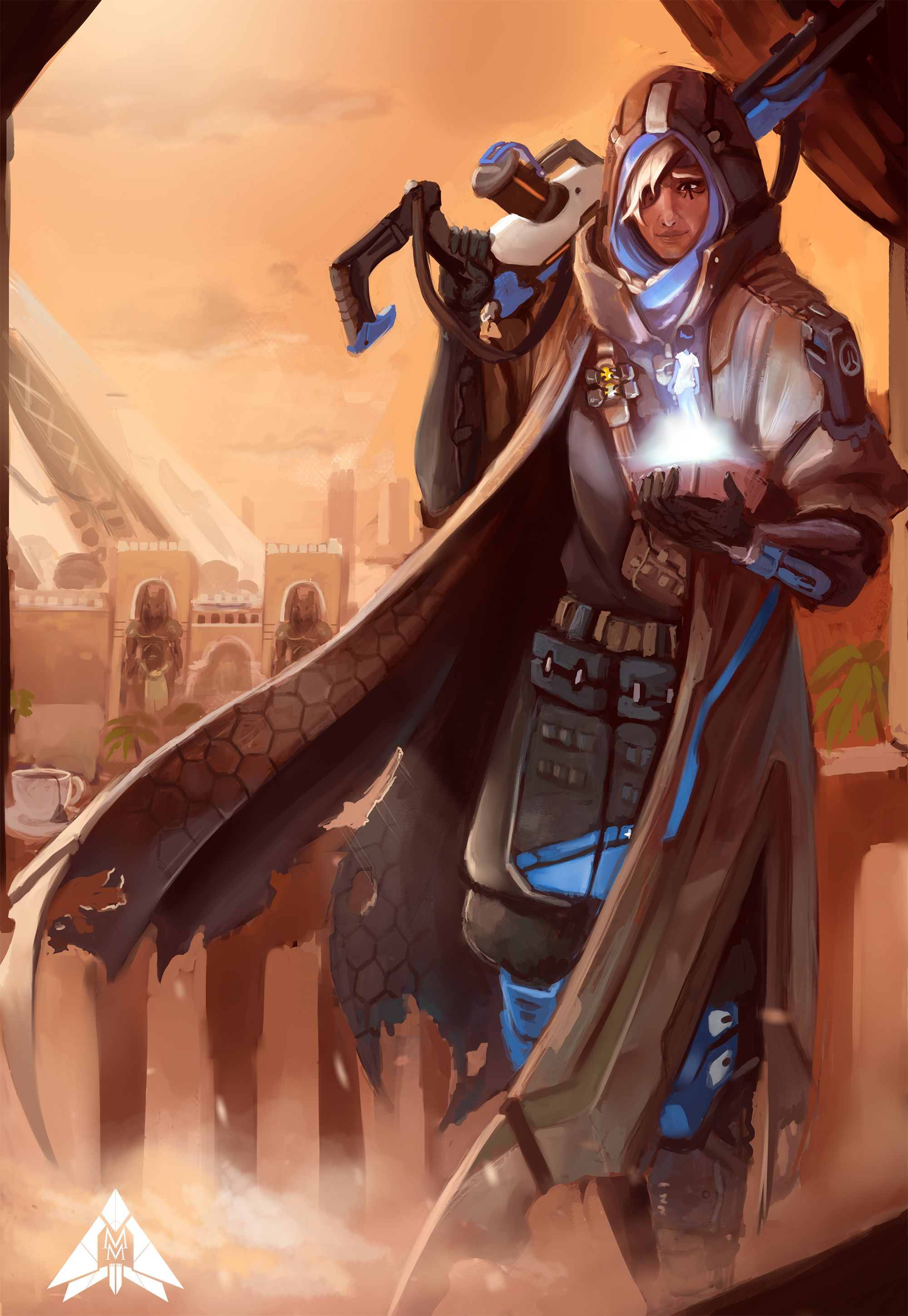Overwatch Ana Wallpaper Overwatch Ana Fan Art 84763