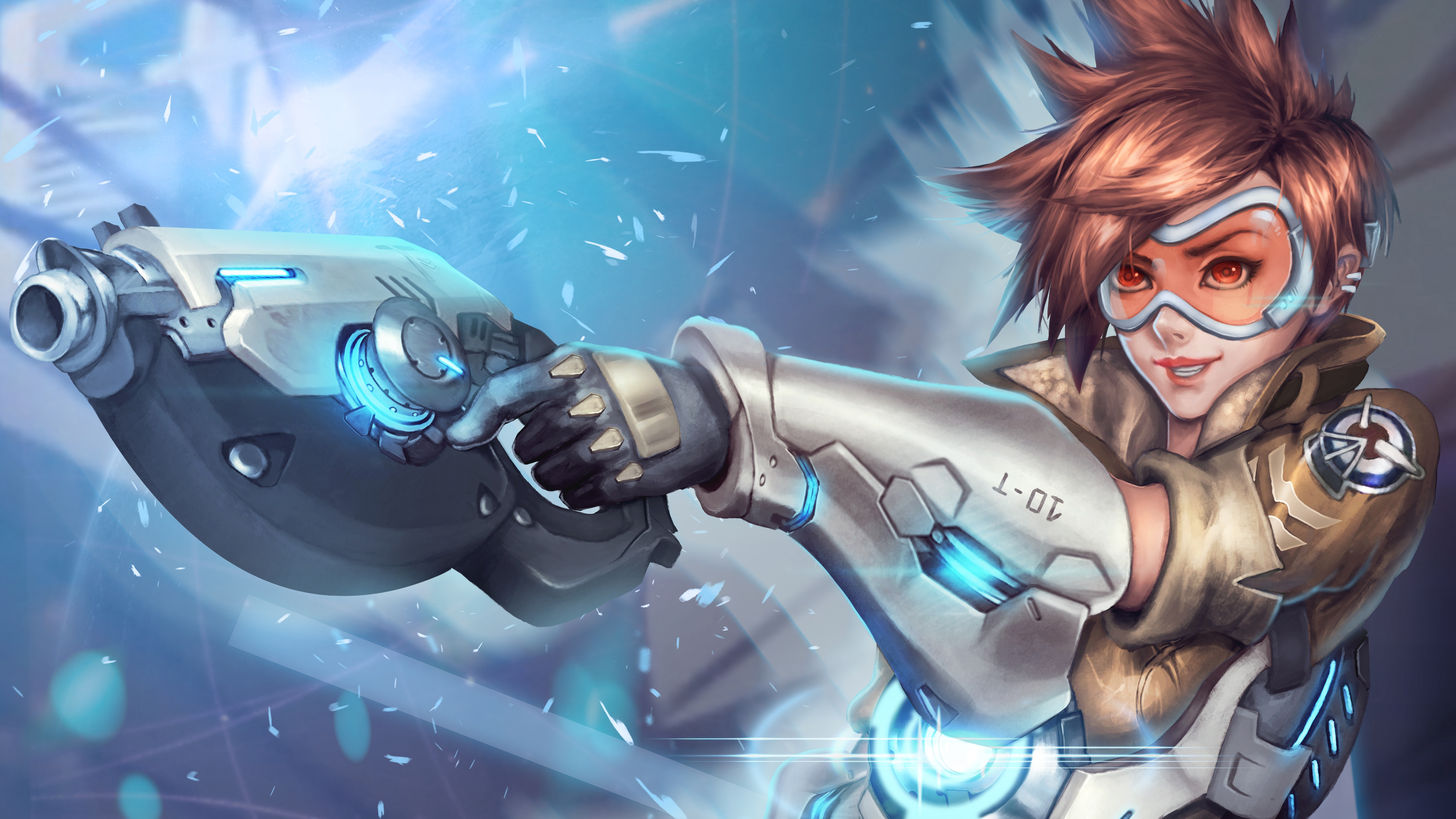 Tracer Overwatch Wallpaper Overwatch Wallpaper Tracer 4k