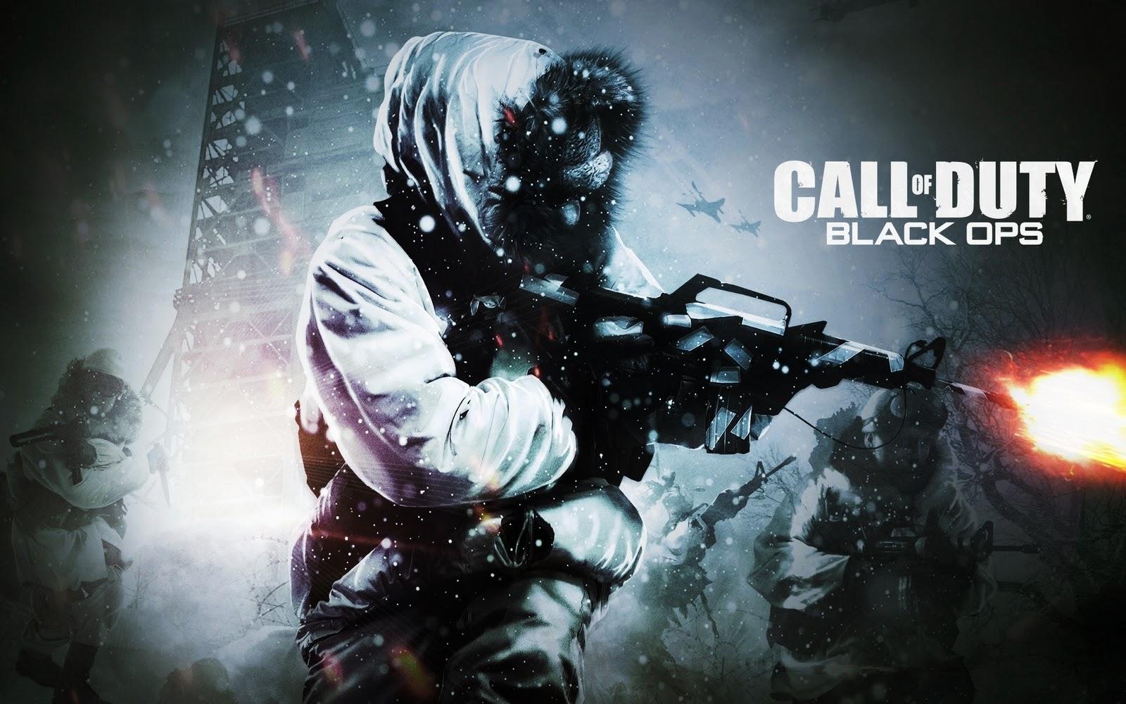 Download Foto Wallpaper Keren - Call Of Duty Black Ops , HD Wallpaper & Backgrounds