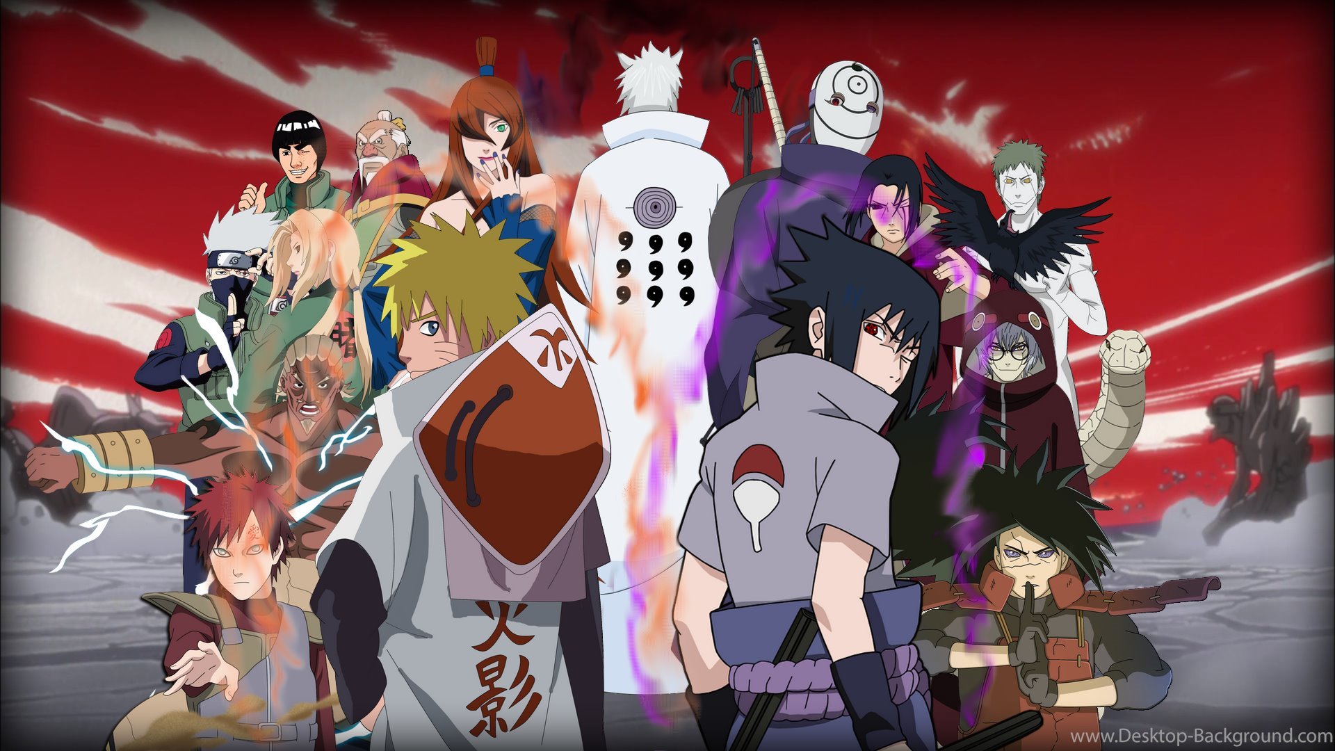 Popular - Naruto Shippuden Full Hd , HD Wallpaper & Backgrounds