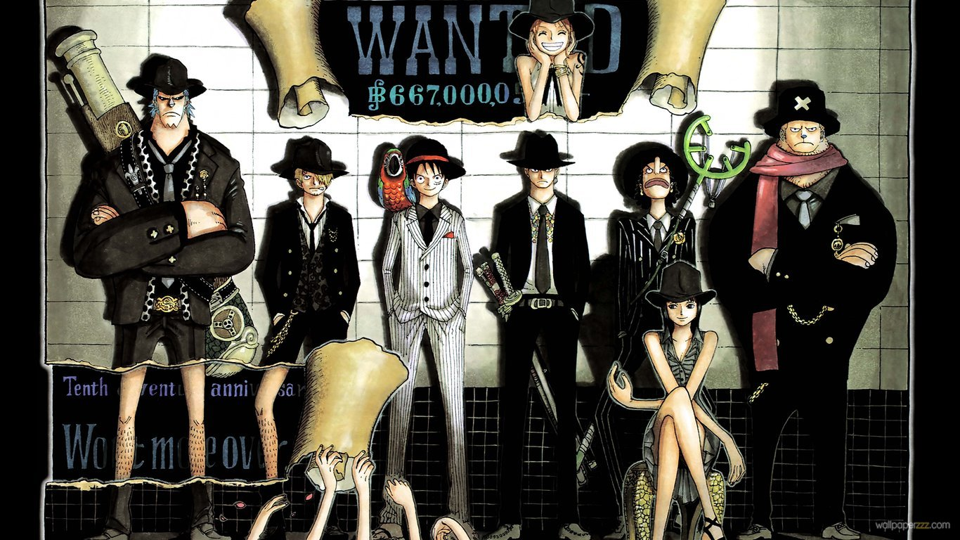 E Piece Wanted Hd Picture Wallpaper E Piece Straw Hats