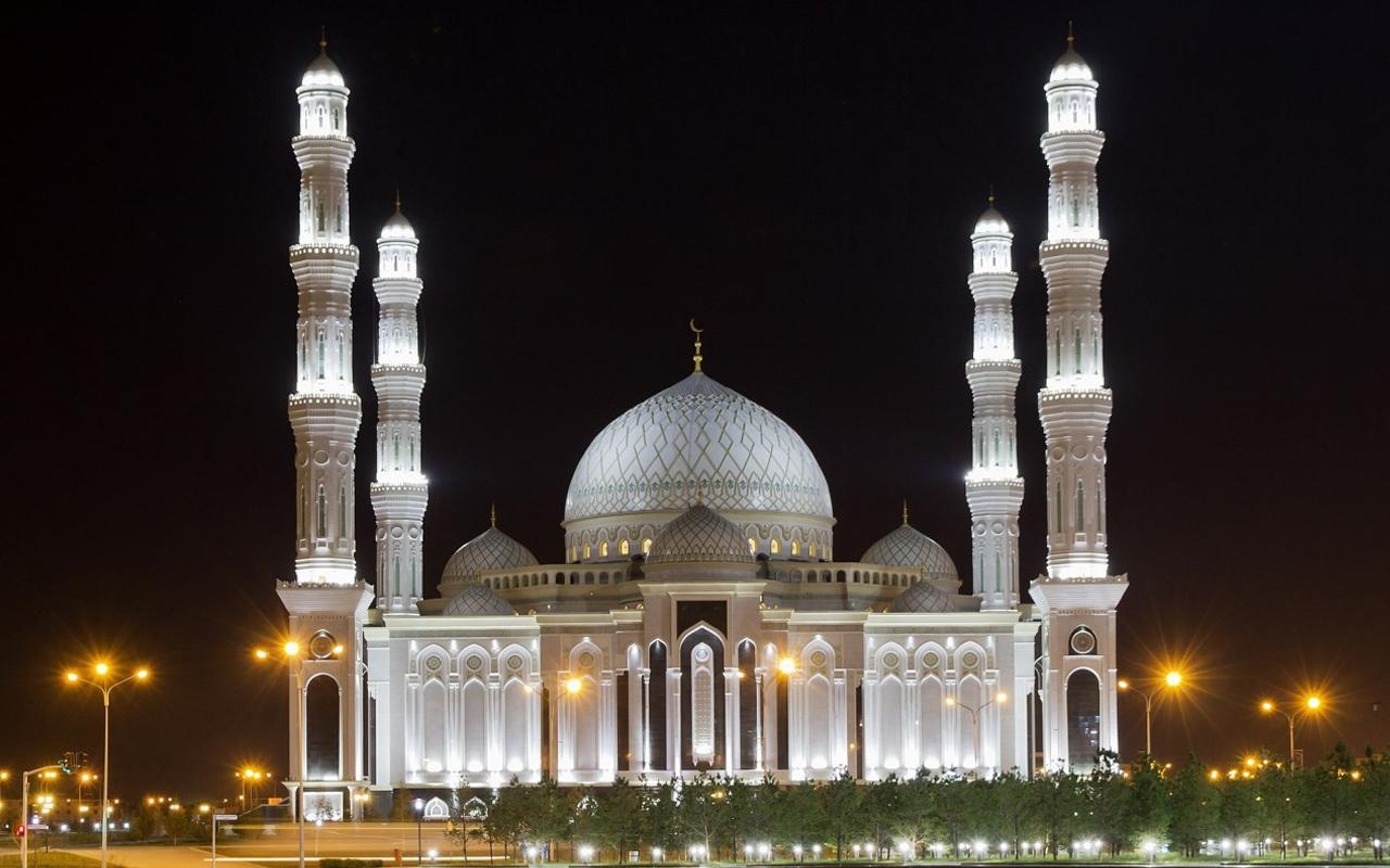 Live Wallpaper Keren - Hazrat Sultan Mosque Kazakhstan , HD Wallpaper & Backgrounds