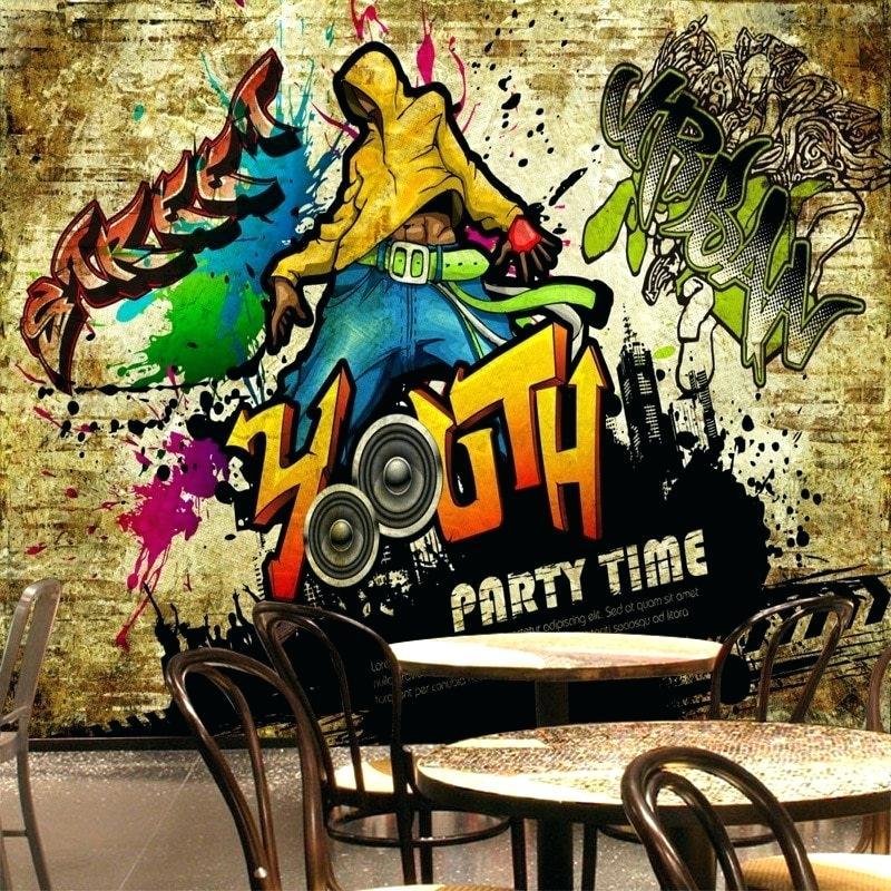 Wall - Gambar Wallpaper Grafiti Keren , HD Wallpaper & Backgrounds