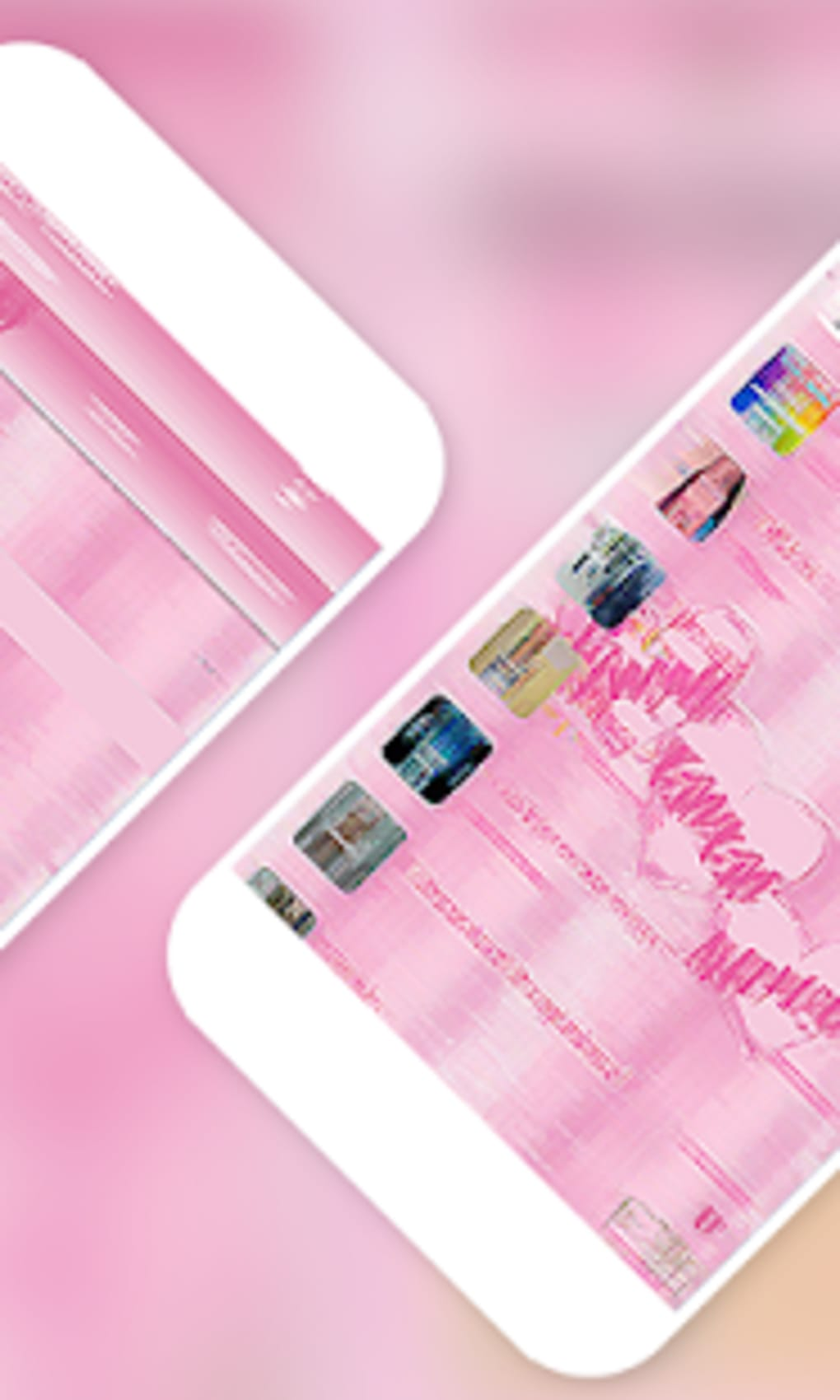 Tema Wa Pink Transparan Wallpaper Mobile Phone 86378 Hd