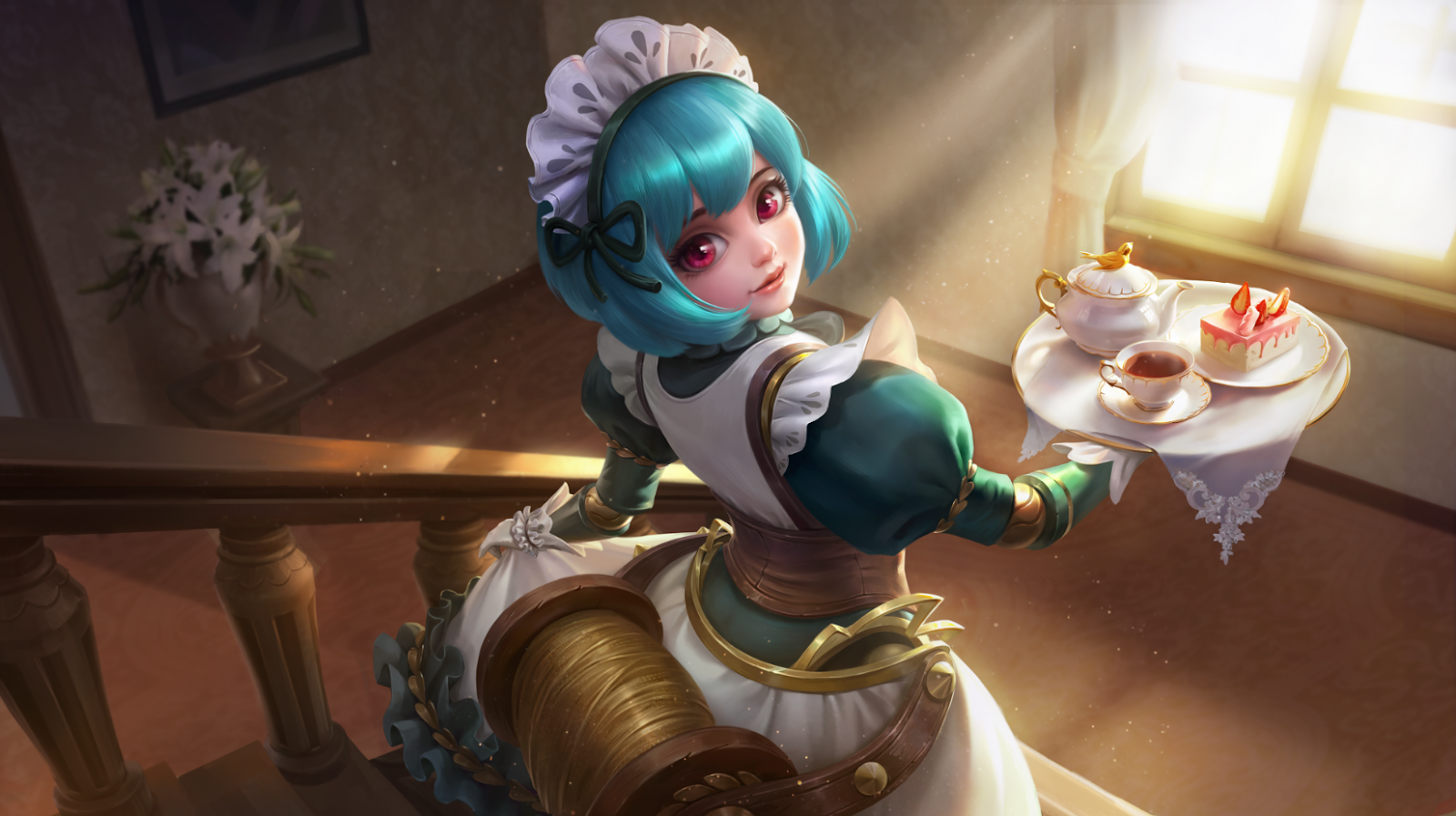 Read Here For - Angela Mobile Legend , HD Wallpaper & Backgrounds