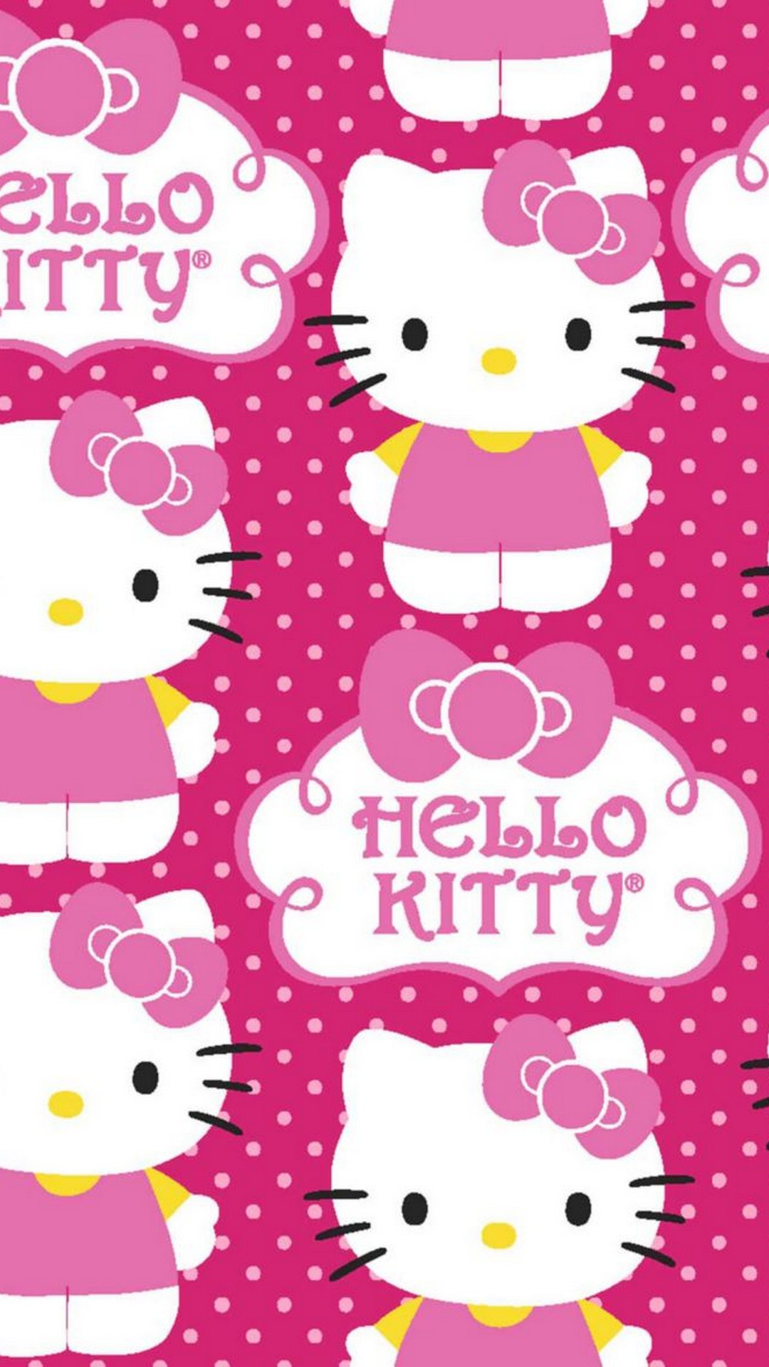 Start Download Iphone Wallpaper Hello Kitty HD
