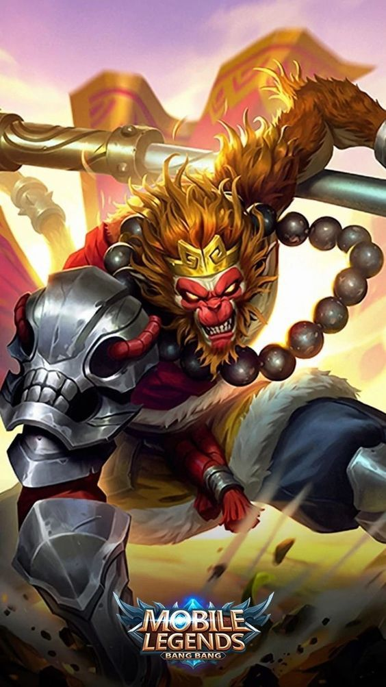 Mobile Legends Wallpaper Monkey King Sun Mobile Legends