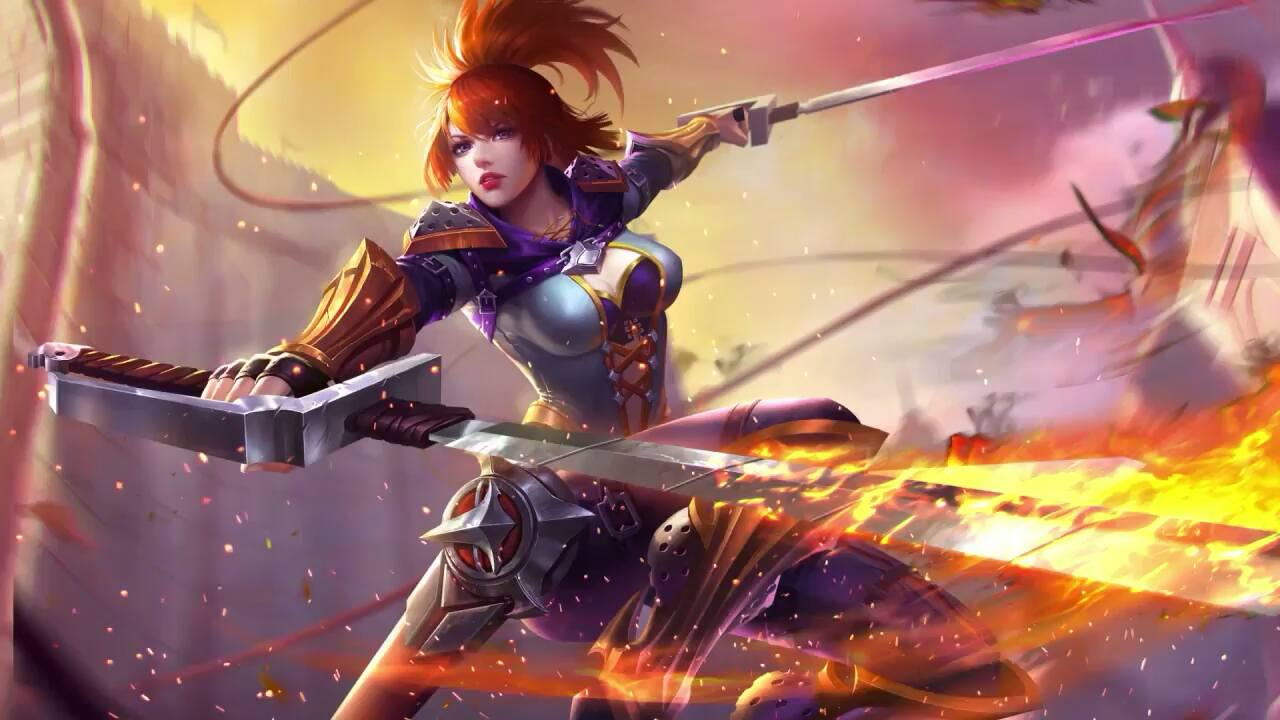 Mobile Legends Game Wallpaper Hd Fanny Mobile Legends