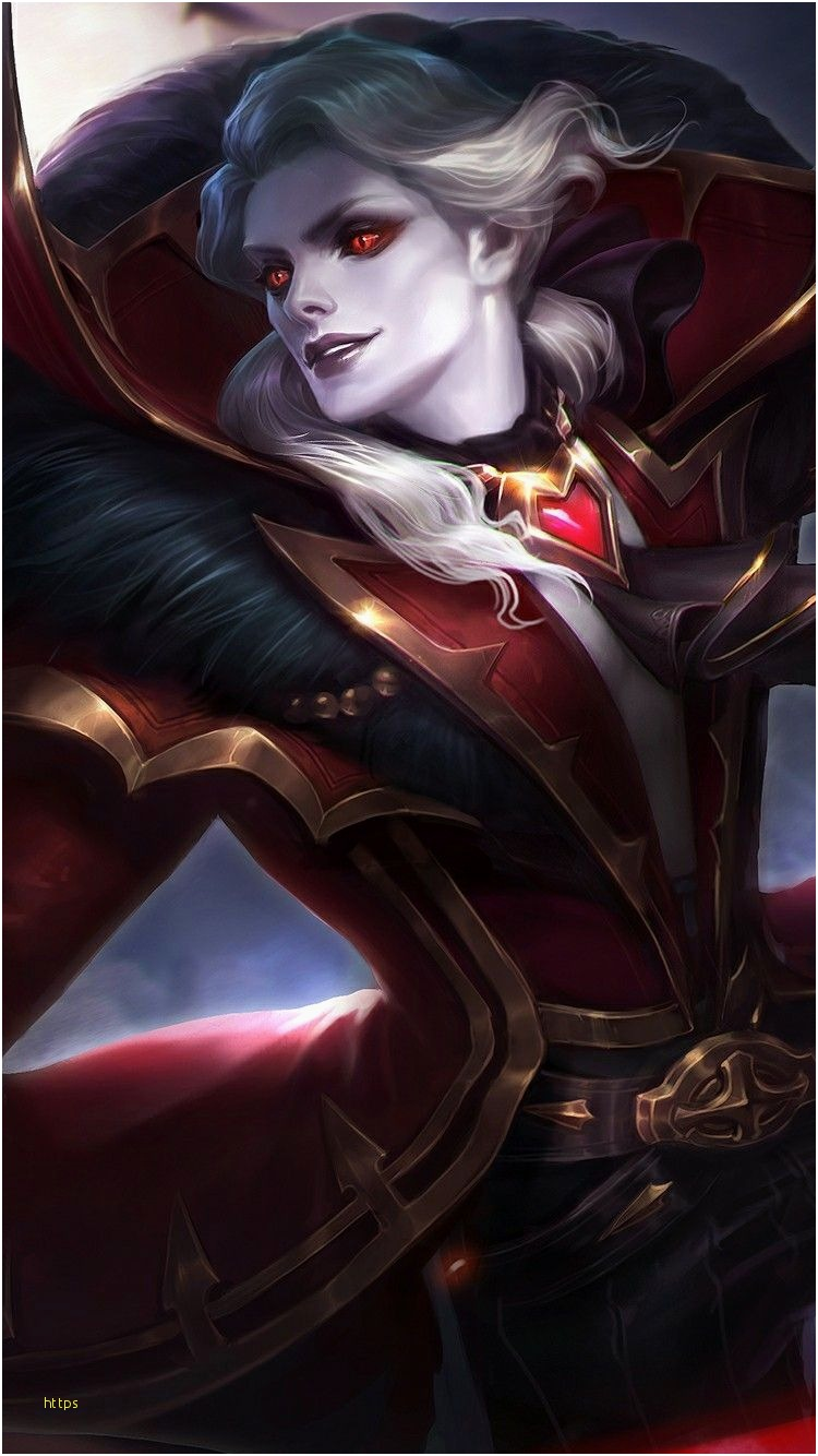 Alucard Wallpaper New Alucard Mobile Legends Wallpaper