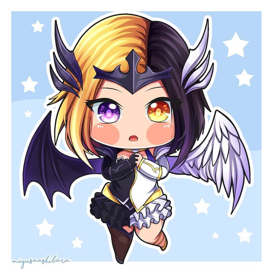 Hero Baru Lunox Mobile Legends Chibi