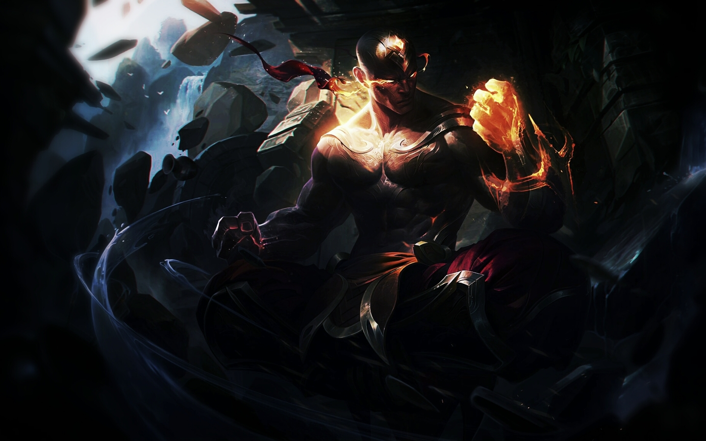 Lol Yasuo And Zed Wallpaper Widescreen Best Wallpaper God Fist