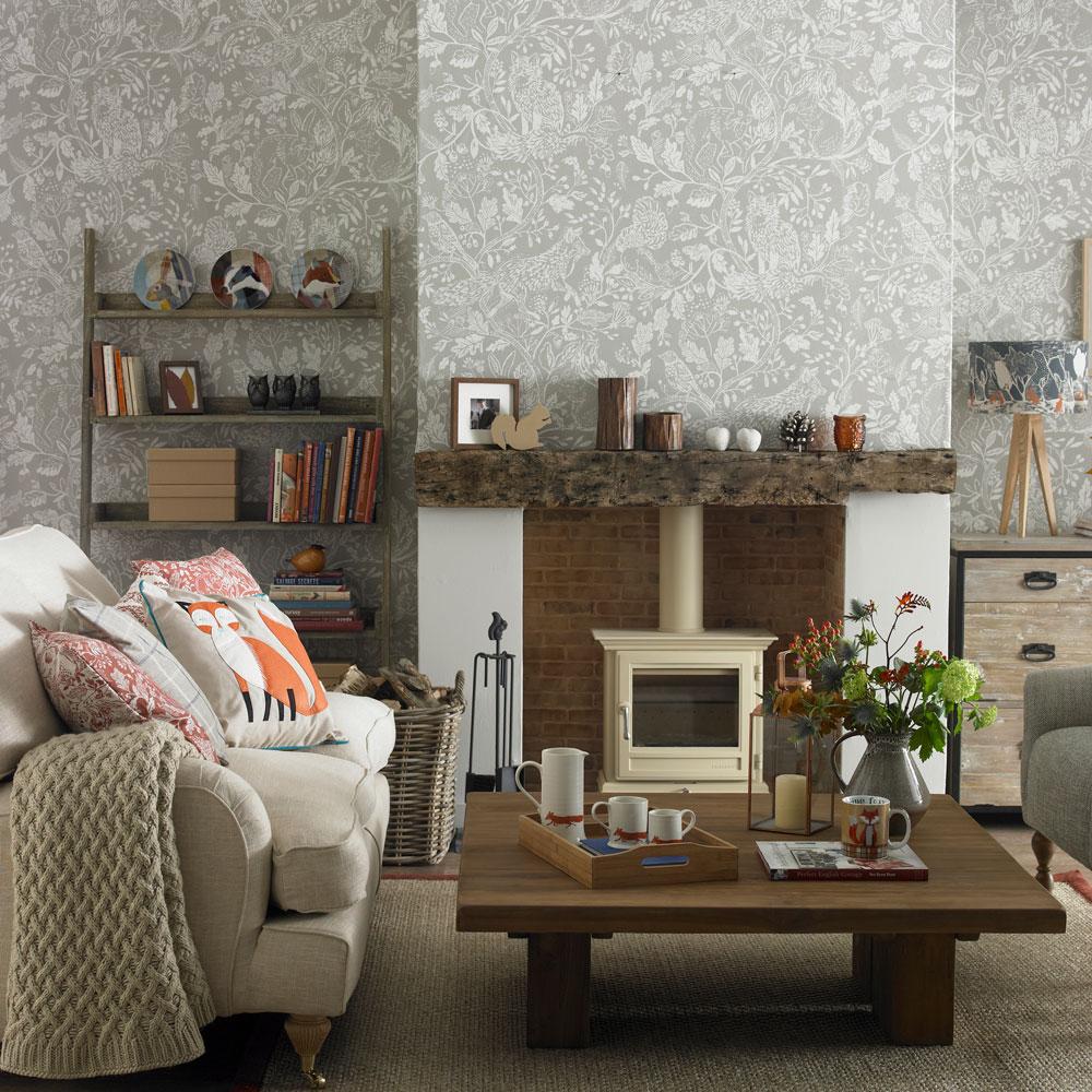 Living Room Grey Small Living Room Wallpaper Ideas 88070