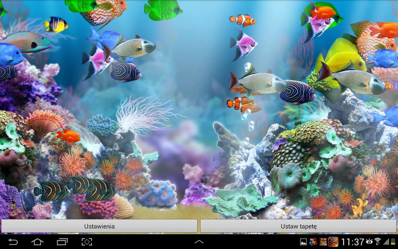 aquarium live wallpaper hd aplicaciones