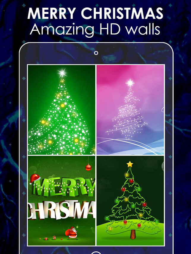 Christmas Live Wallpaper - Christmas Tree , HD Wallpaper & Backgrounds