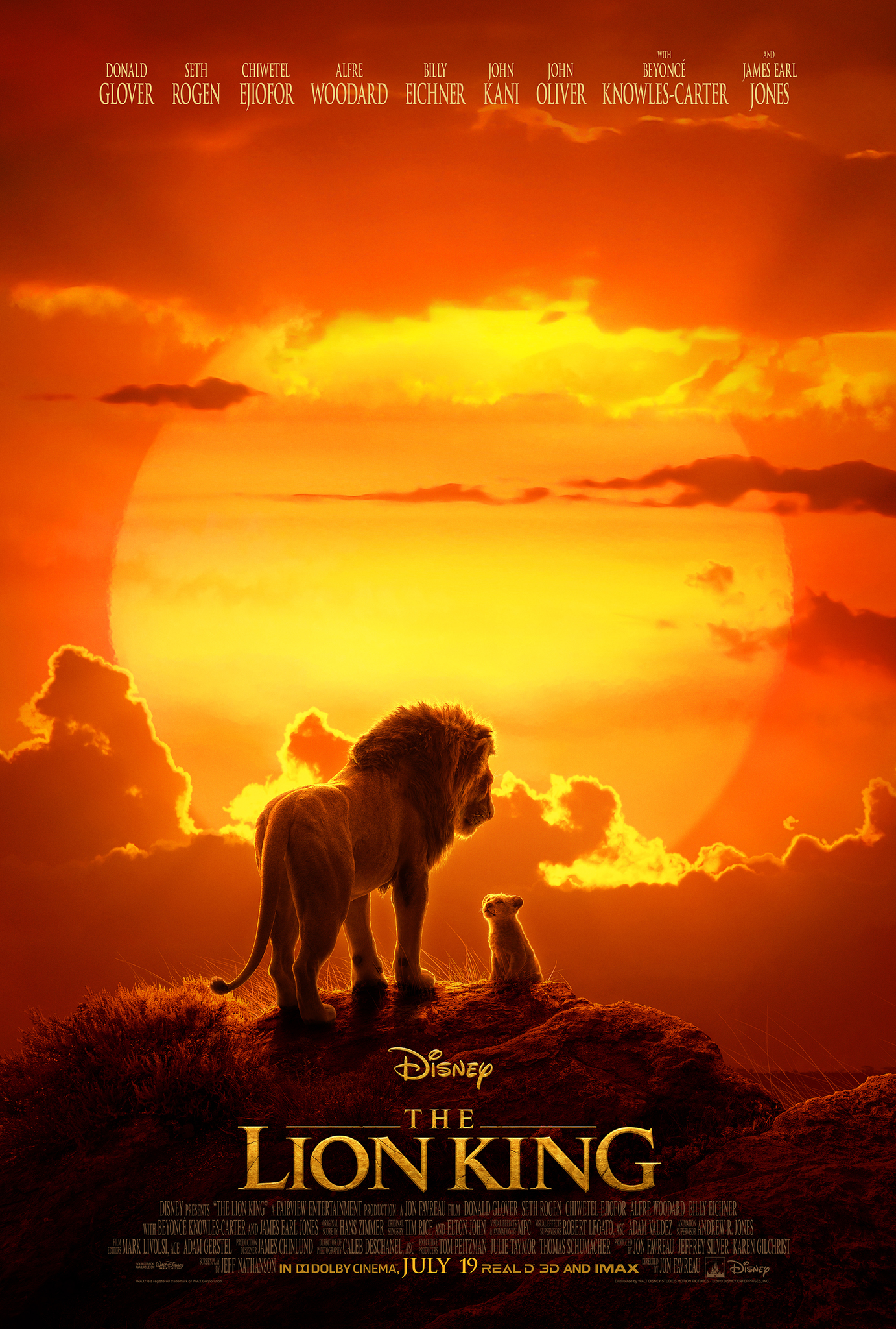 80 800795 the lion king lion king 2019 poster