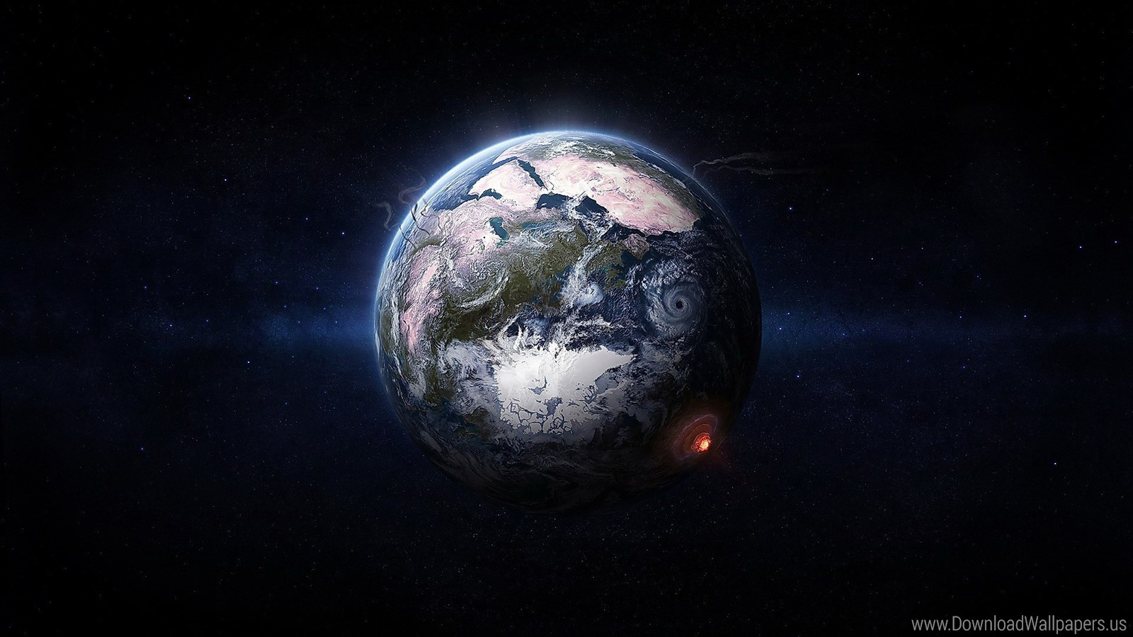 Earth From Space , HD Wallpaper & Backgrounds