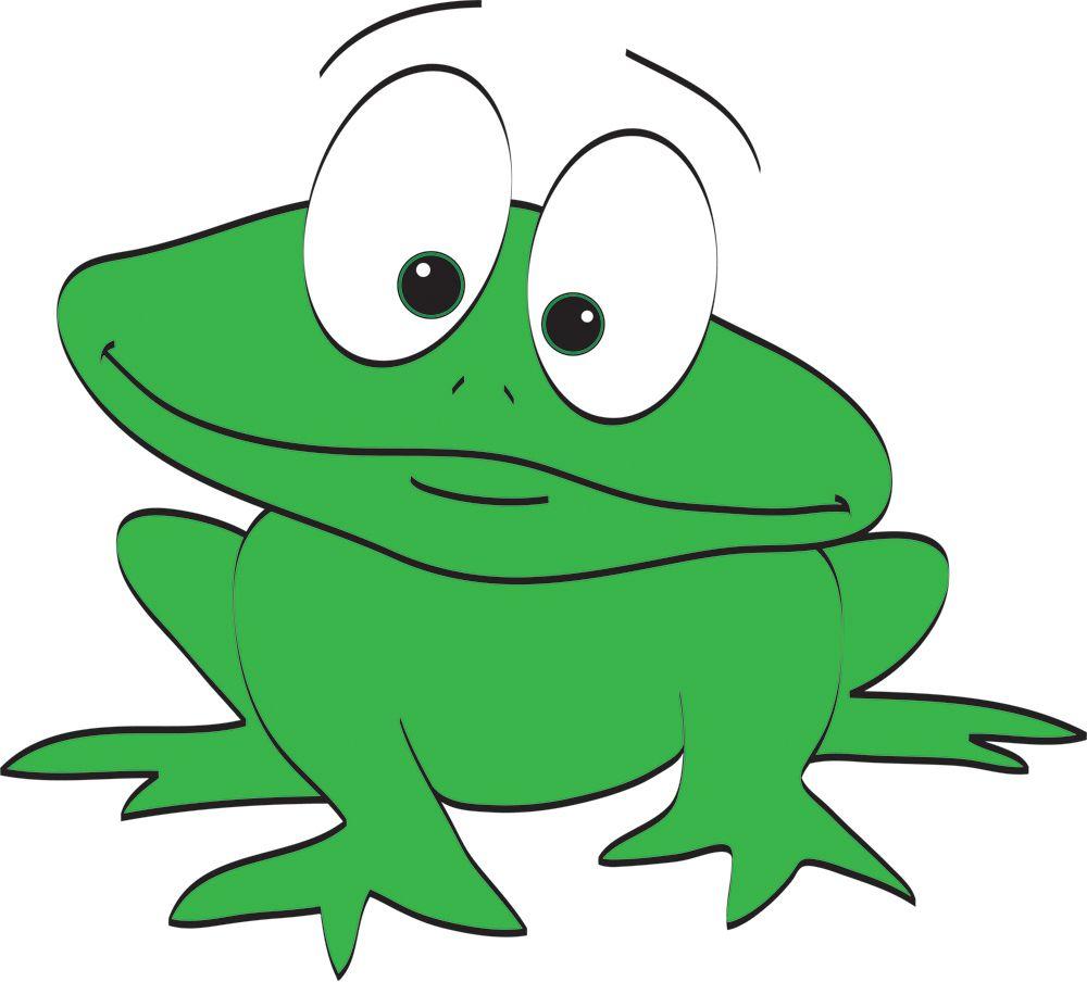 Green Frog Clipart Katak Frog Image Cartoon HD