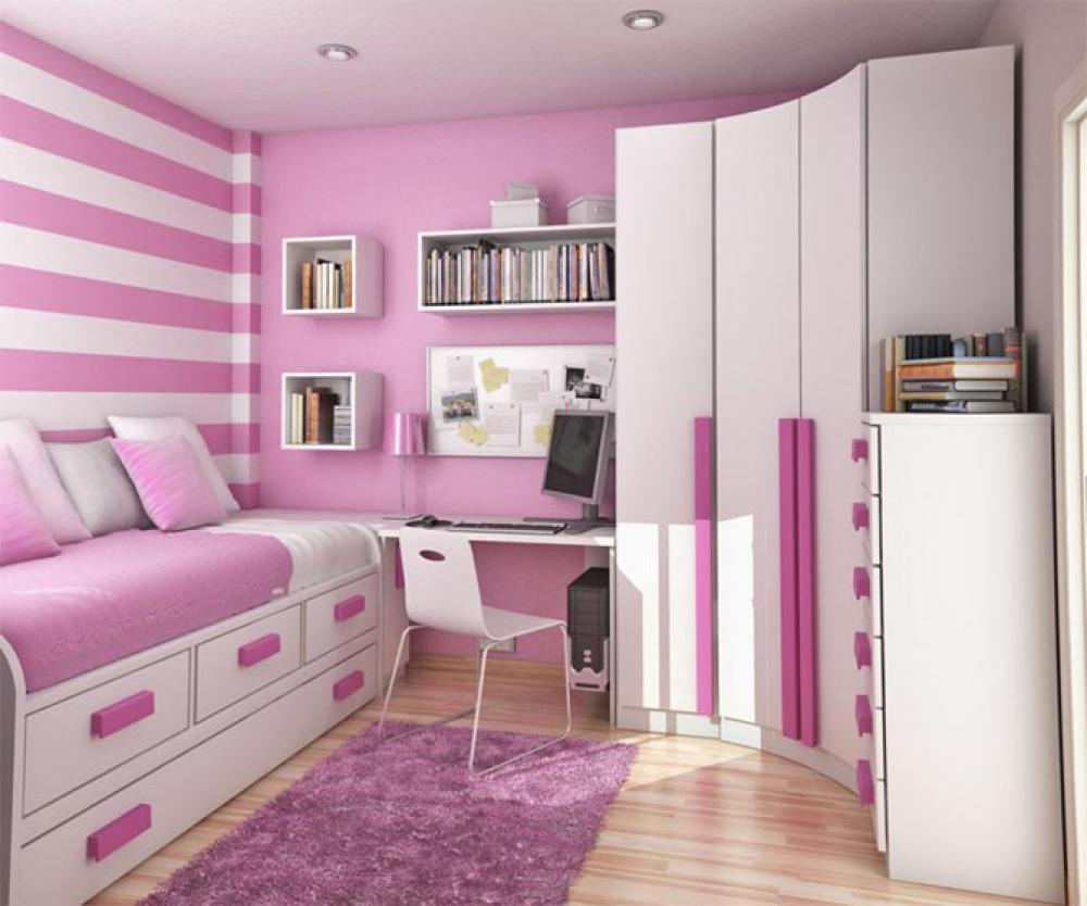 Kamar Anak Perempuan Bagus Bertingkat Berbie Biru Bedroom