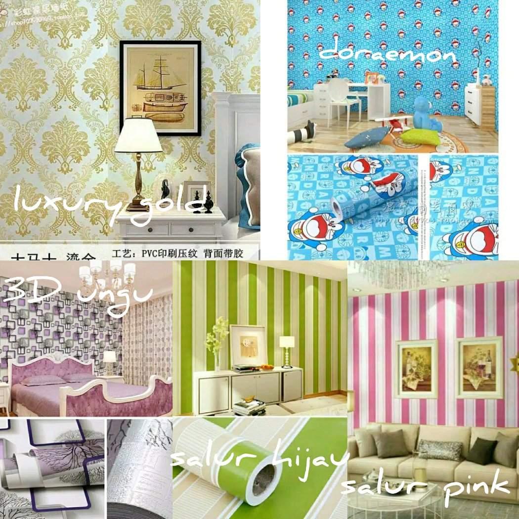 Harga Wallpaper Dinding Motif Doraemon Terbaru Indonesia