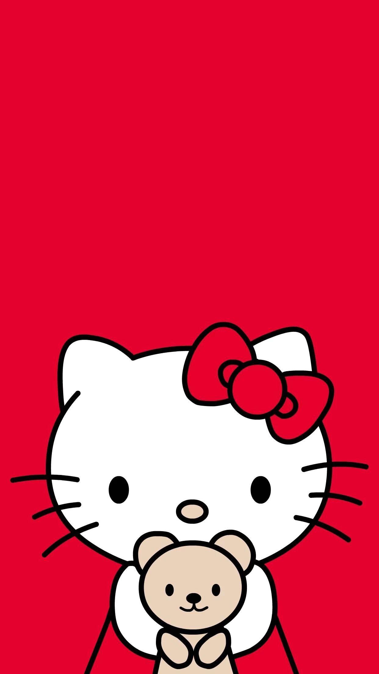My Red Kitty 😻 Sanrio Hello Kitty, Hello Kitty My - Samsung J8