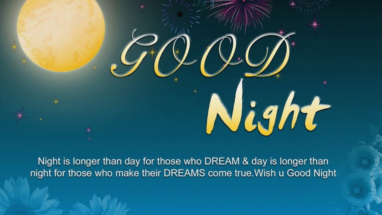 Good Night Only Good Night Love Video Pictures Graphic Good