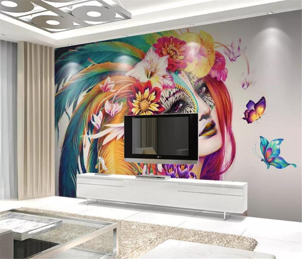 Product Show - Tapeten 3d Blau Wohnzimmer , HD Wallpaper & Backgrounds