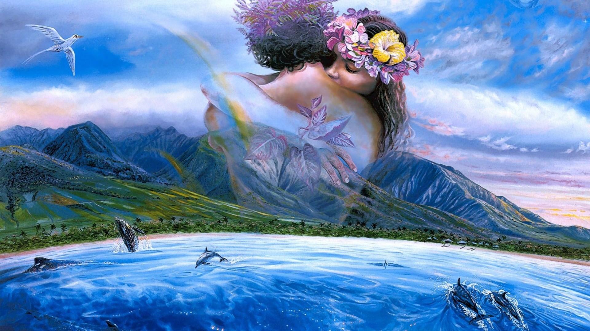 Nature Love Wallpaper Hd 1080p 14 Nature Love Wallpaper - Nature Wallpaper Hd Love , HD Wallpaper & Backgrounds