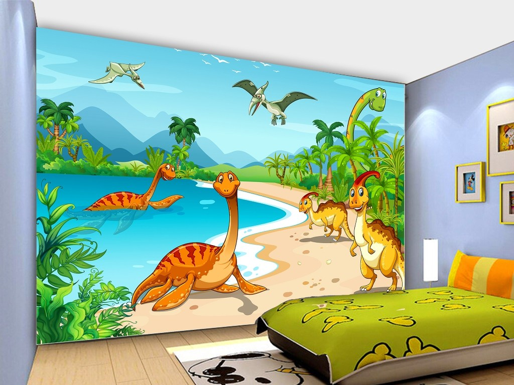 Wallpaper Dinding Kartun 46 Download Hd Wallpapers