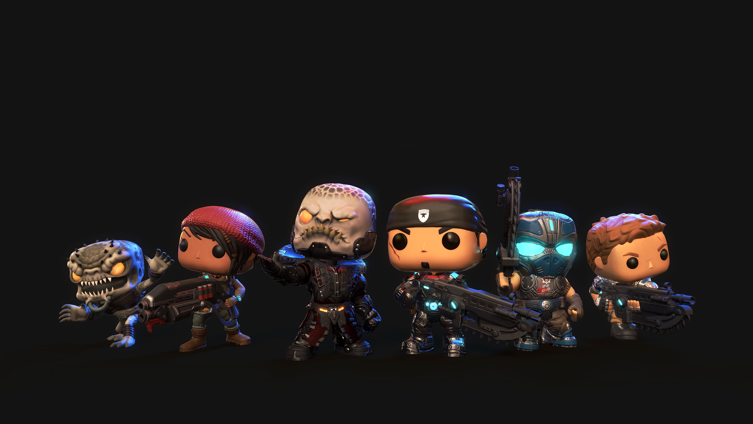 Gears Of War Meets Funko Pop In New Mobile Game Gears Of War Pop Game 821523 Hd Wallpaper Backgrounds Download