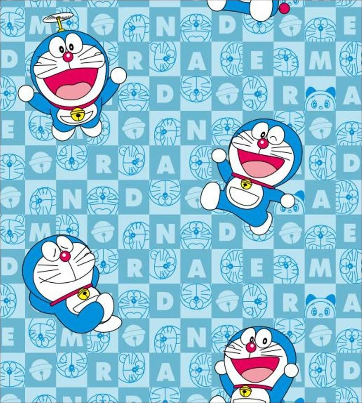 Wallpaper Kartun Dinding Erwin Ganteng Doraemon