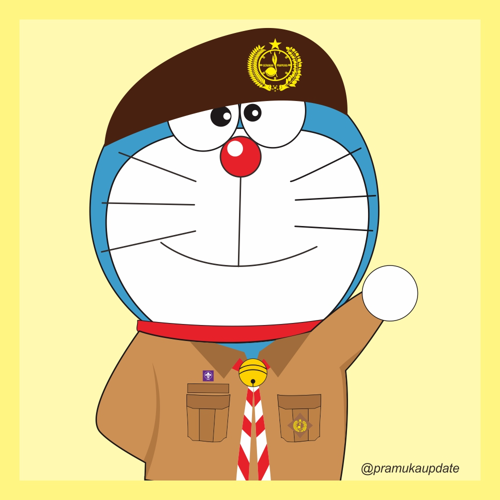 Wallpaper Pramuka Keren Doraemon Sama Kata Kata 822313