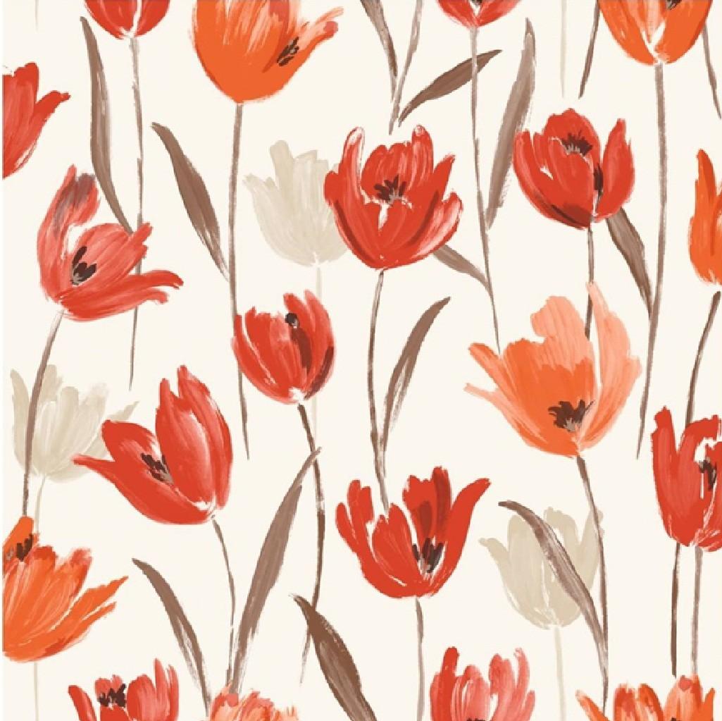 Tulip Print Tulip Wallpaper Pattern 822571 Hd Wallpaper